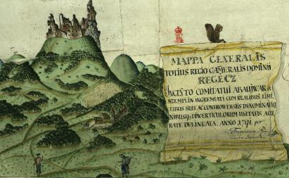 Regéc térképe. MNL OL – S 11 – No. 152. részlet