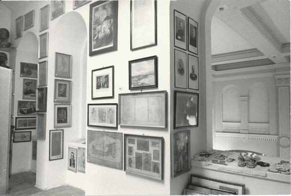 A múzeum berendezése az 1980-as években, Fekete János Múzeum albuma