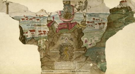 Kővágóörs térképe. MNL OL – S 20 – No. 190/2