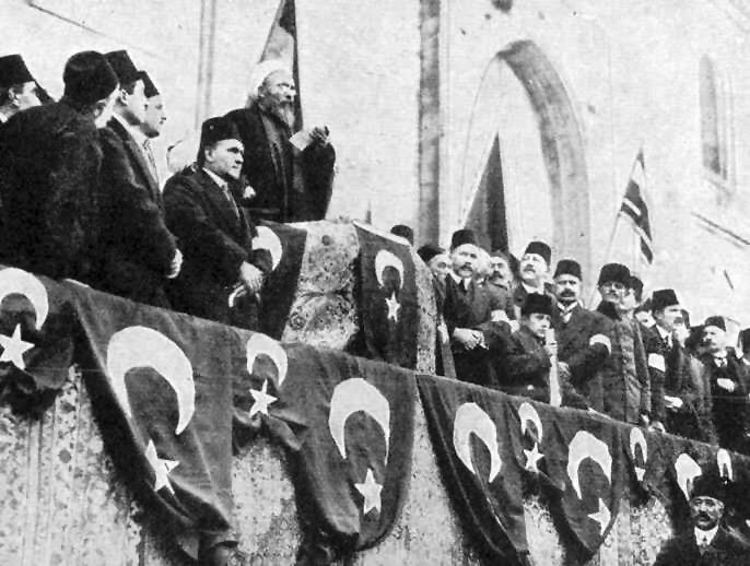 Török állami és vallási vezetők