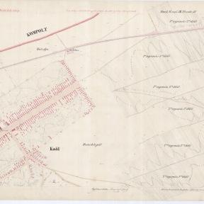 Kataszteri térkép: Kál 6. szelvénye, 1886 MNL OL S 78 119. téka Kál 5.