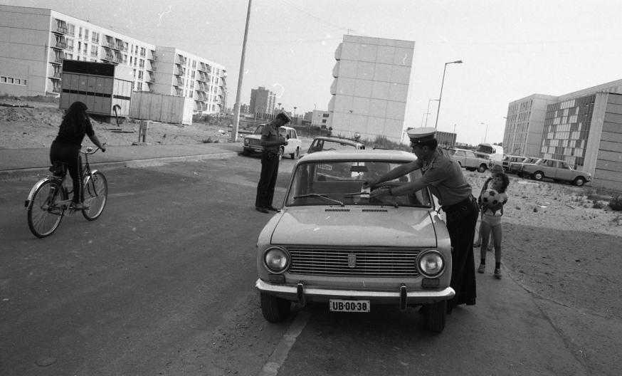 Atomerőmű-lakótelep, Paks, 1981. Fortepan 66642.
