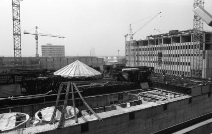 Az Atomerőmű építése, 1979. Fortepan 89222.