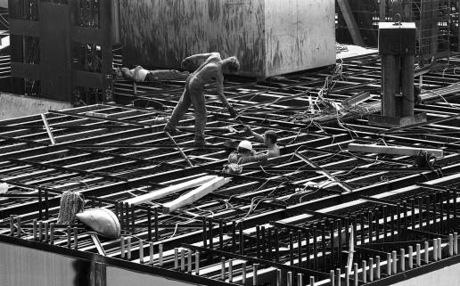 Az Atomerőmű építése, 1979. Fortepan 89226.