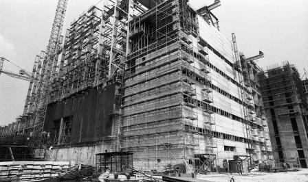 Az Atomerőmű építése, 1979. Fortepan 89227.