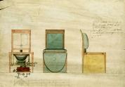 WC a 18-19. századból. MNL OL T 2 – No. 1085.