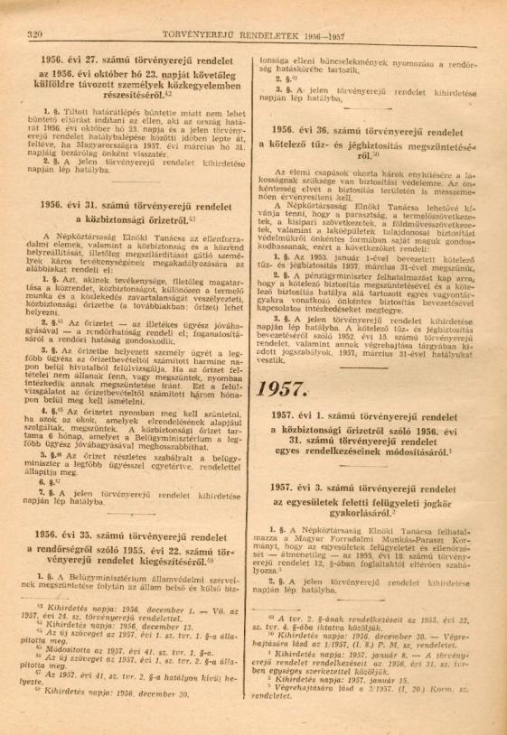 Törvényrendelet a kivándorlásról (1956. évi 27. számú törvényerejű rendelet)