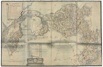 Kőrös vármegye térképe, 1796. A német nyelvű, kéziratos, színezett megyetérkép 1:135 000 méretarányú és 101x65 cm nagyságú. Anyaga: vászonra vont papír. Jelzet: MNL OL S 103 – No. 7/27.