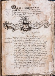 Idézetek Erasmustól - eredeti őrzési helye Máltai Nemzeti Levéltár