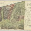 Saroltavár (Charlottenburg) kéziratos térképe – eredeti őrzési helye MNLOL