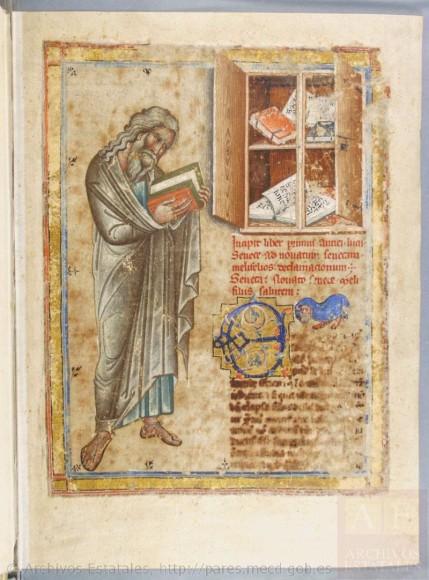 Seneca munkái - eredeti őrzési helye Aragón Korona Levéltára