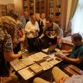 Látogatás az egyházi gyűjtőlevéltárban Csobotfalván